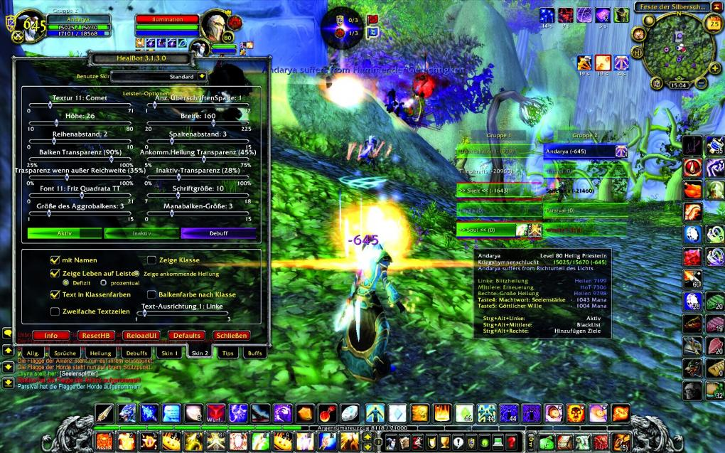 World of Warcraft: Addon-Guide - Healbot