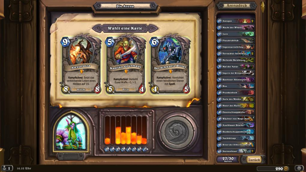 how to build deck in hearthstone arena