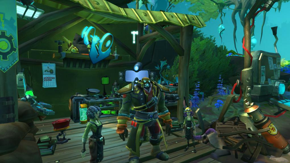 Handwerksstationen in Wildstar