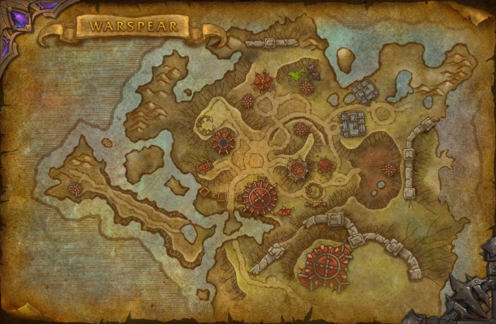 WoW Warlords of Draenor: Neue Karten in Build 18888 on