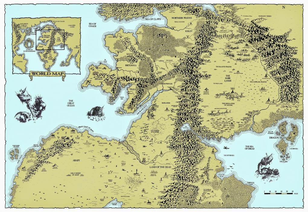 Mittelerde Karte Komplett.Total War Warhammer Völker Spielwelt Helden Trailer Und