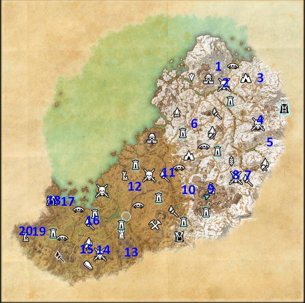 The Elder Scrolls Online: Orsinium - Alle 20 Relikte in ...