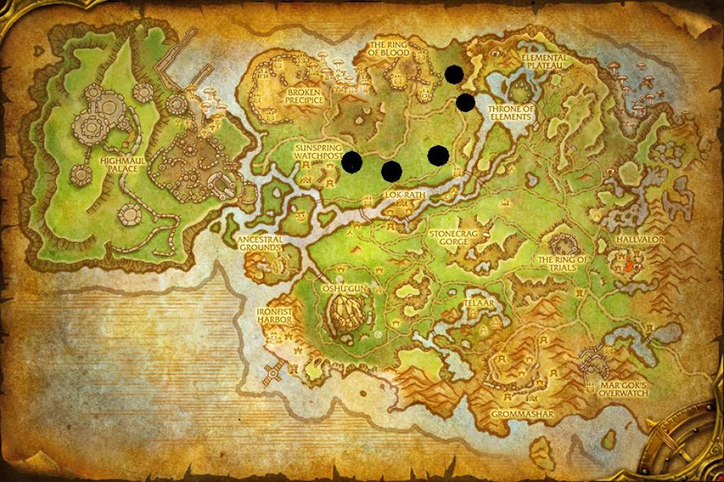 WoW Draenor Mounts Nagrand Bluthufbulle
