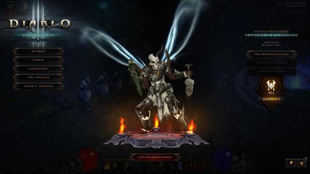Diablo 3: Guide Zunimassa-Hexendoktor 2 4 1 - Qual 10 und Große