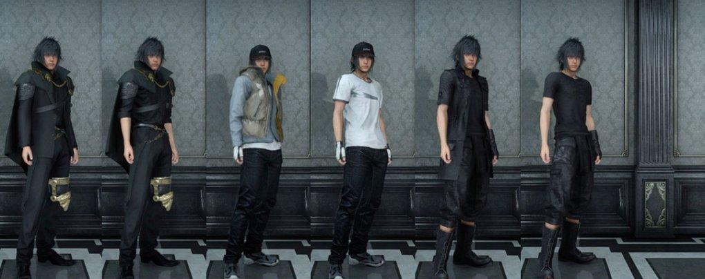 Final Fantasy 15: Kleidung und Attribute erklärt Kleider