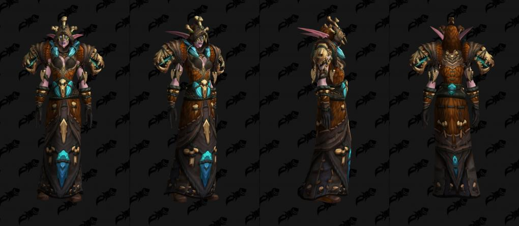 Wow Battle For Azeroth Bringt Neue Farbvarianten Alter Tier Sets