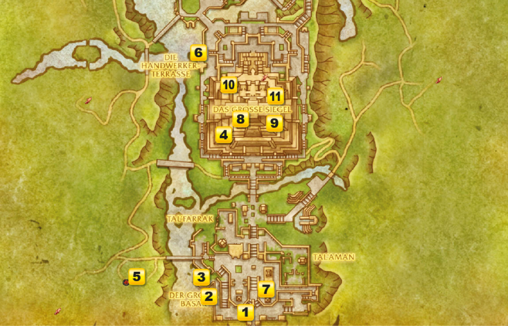 wow battle for azeroth dazar alor guide wo ist was in