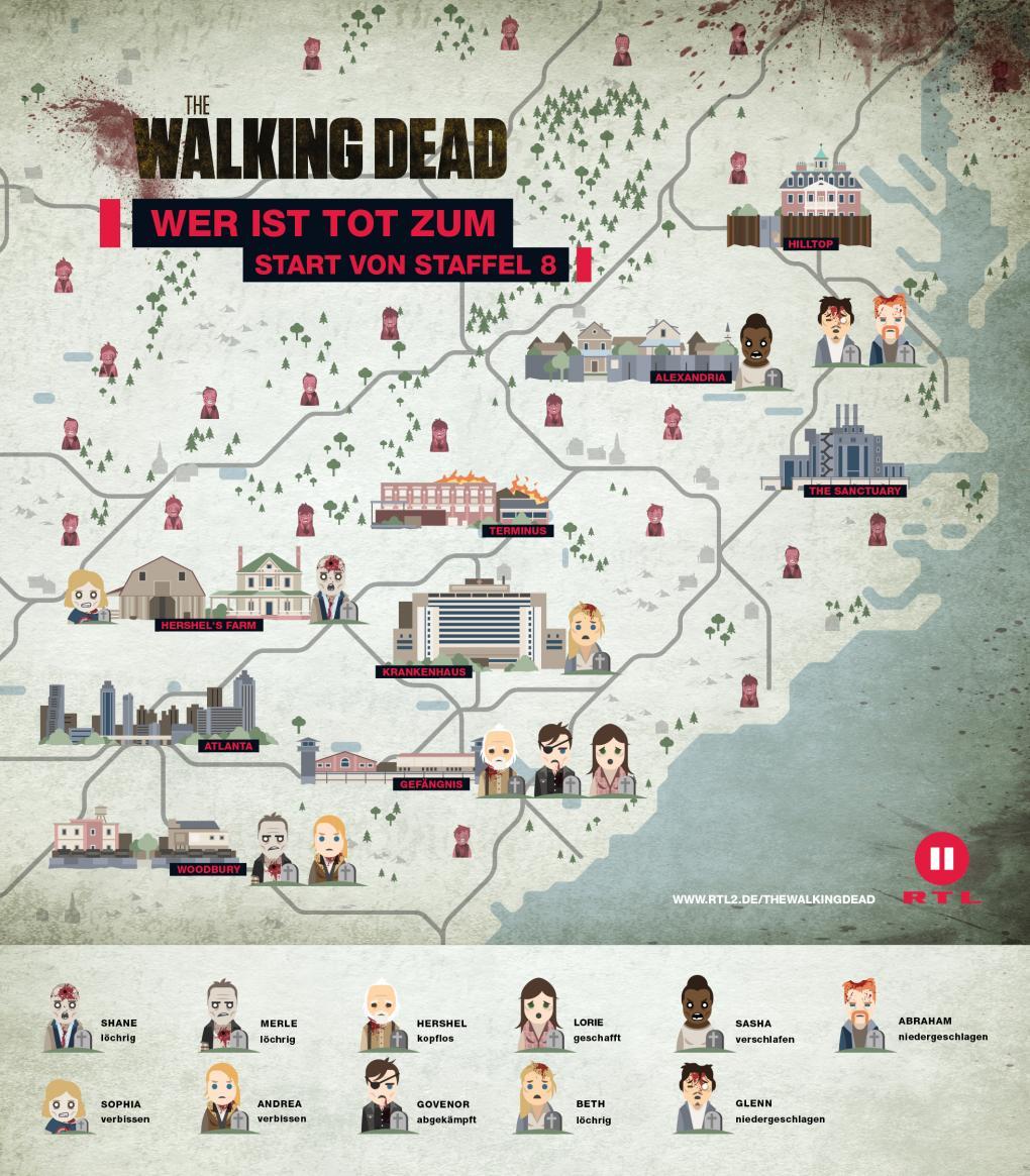 Wo Spielt Walking Dead
