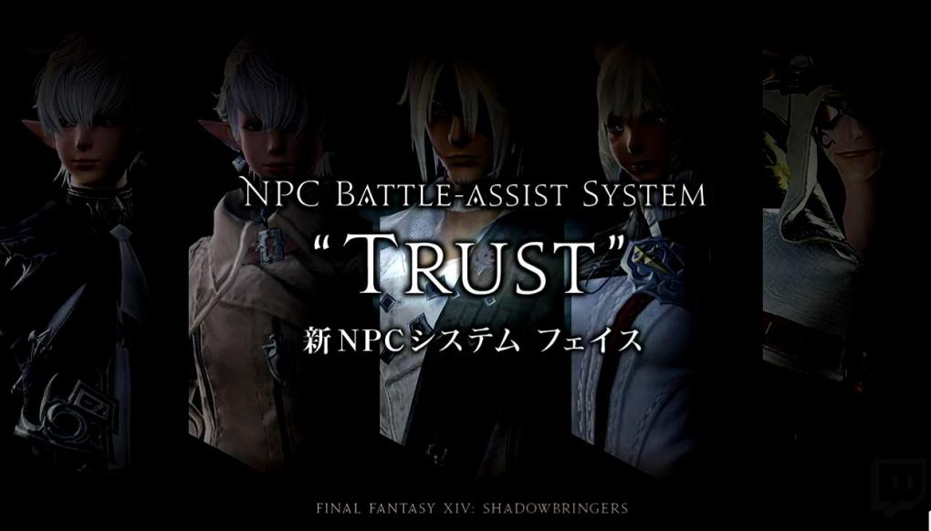 Thanks to the trust system, you can set up adventures with known NPCs.