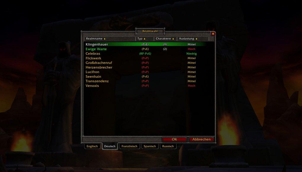 WoW: Blizzard hat überraschend die deutschen Classic-Server umbenannt.