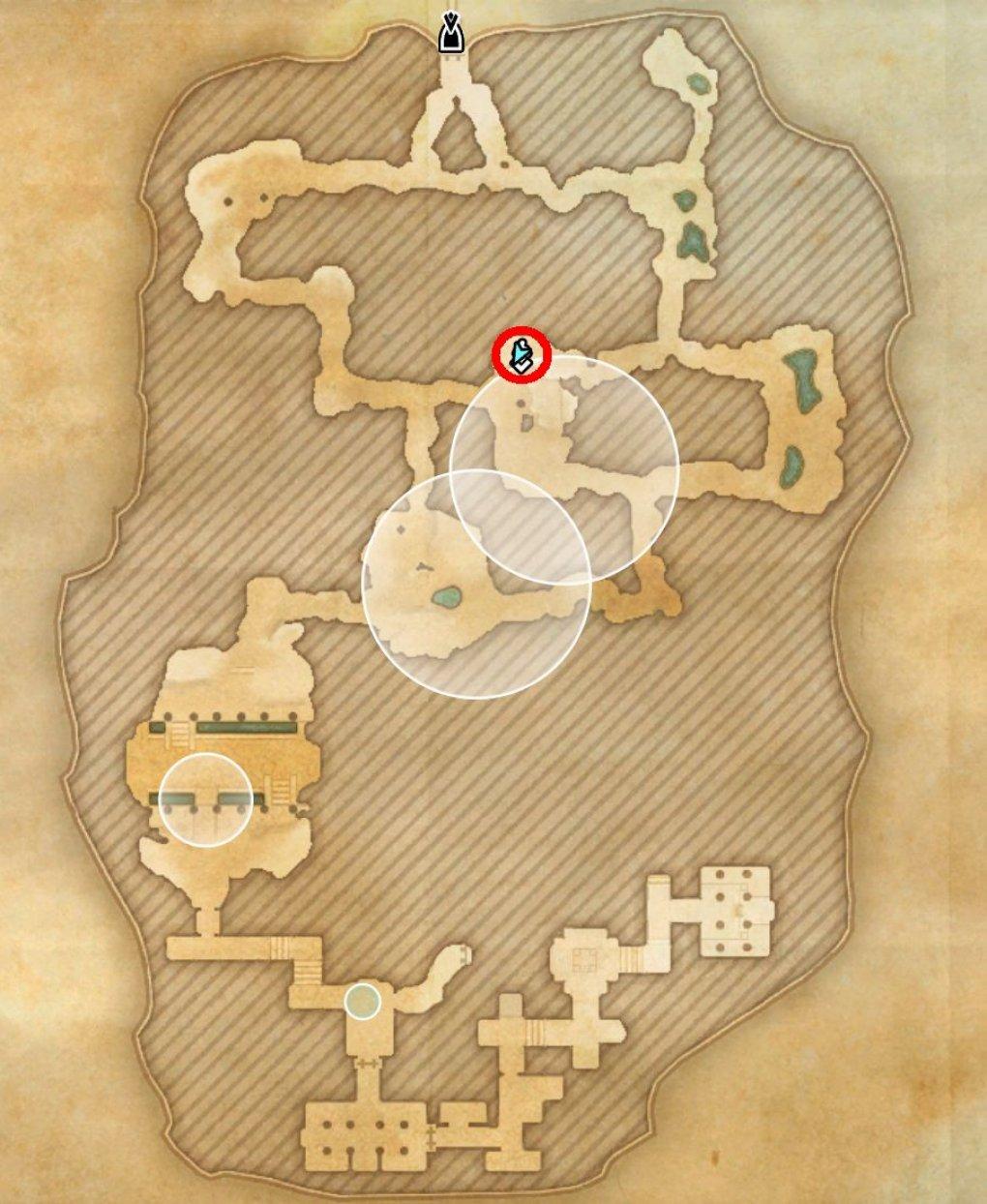 ТЕСО: Блэквуд - Небесный осколок в пещере Кровавого потока.