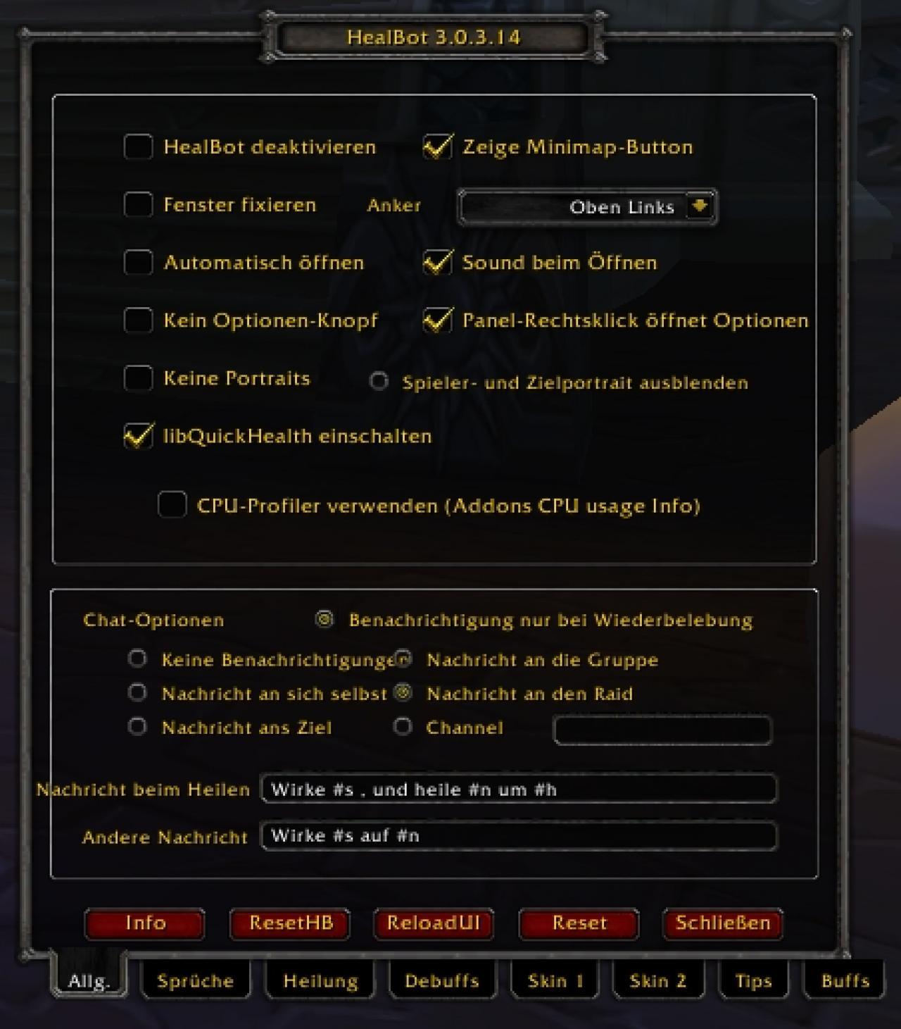 WoW: Addons - Healbot (Legion 7 2)