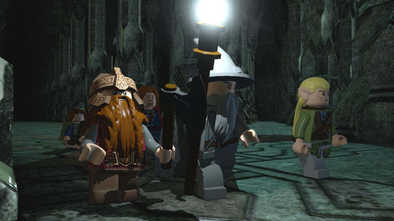Lego Der Herr Der Ringe Moria Spielszenen Im Video Von Der E3