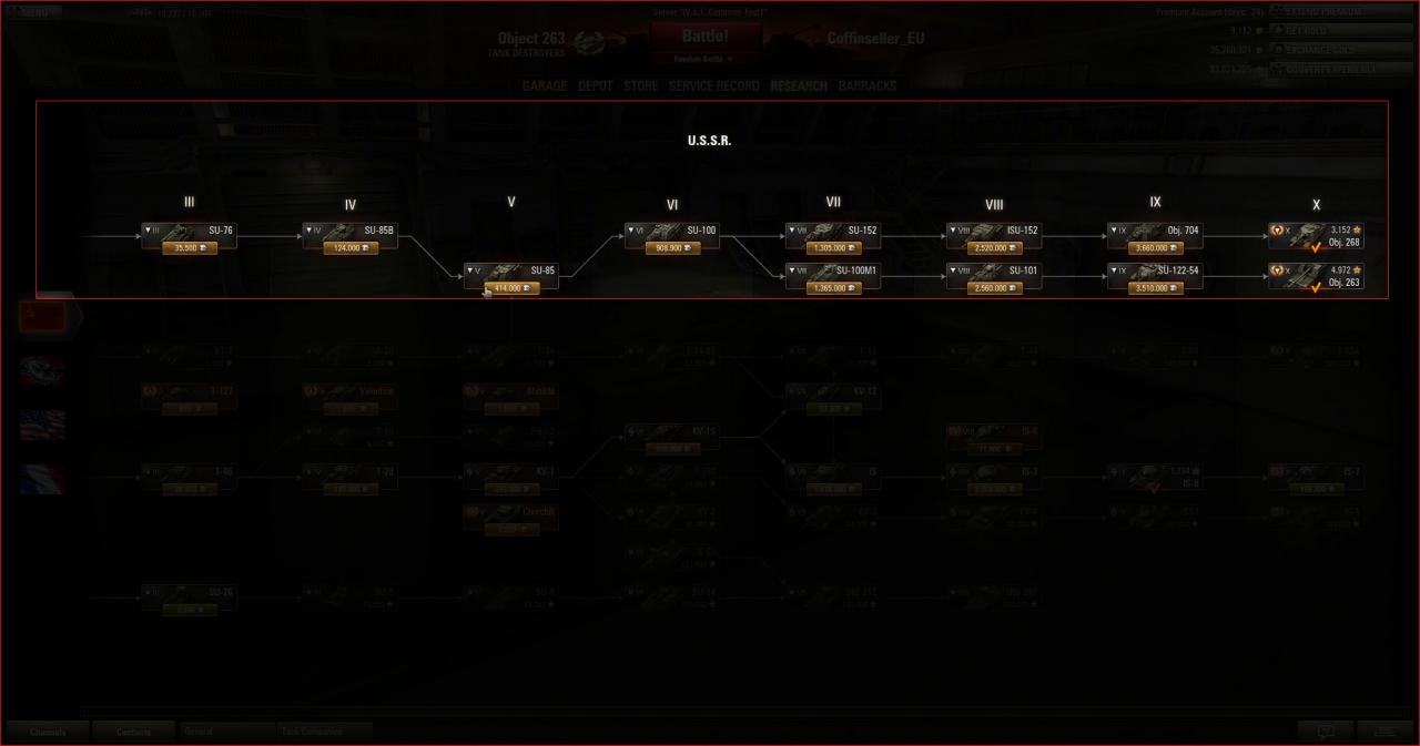 World Of Tanks Update 80 Tipps Objekt 263