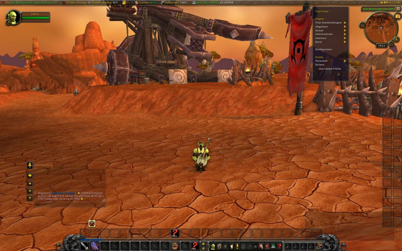 WoW Addon-Tipp: Titan Panel - Revisited