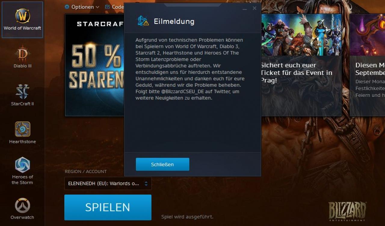 Diablo 3 login probleme