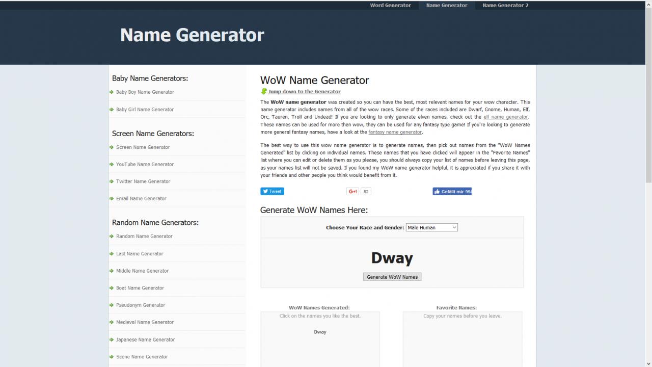 zwergennamen generator