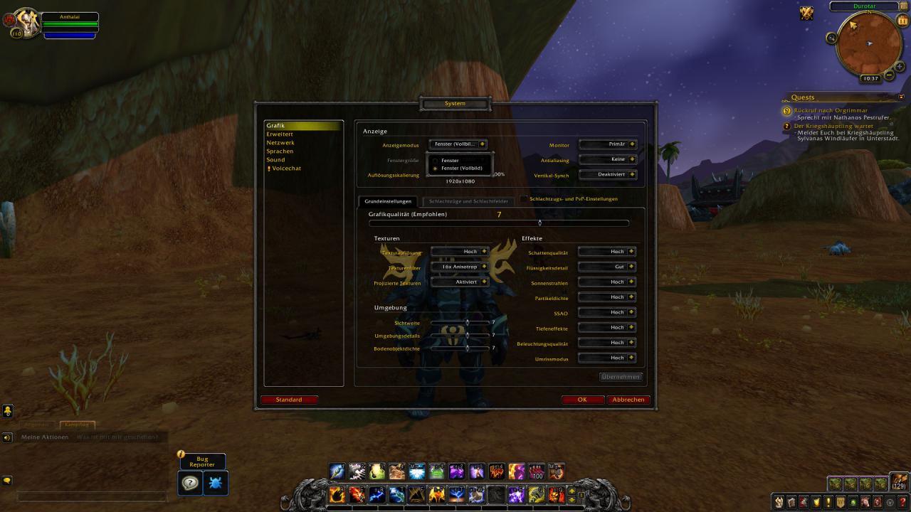 WoW: Vollbild weg, DirectX 12 da - wie läuft World of Warcraft mit