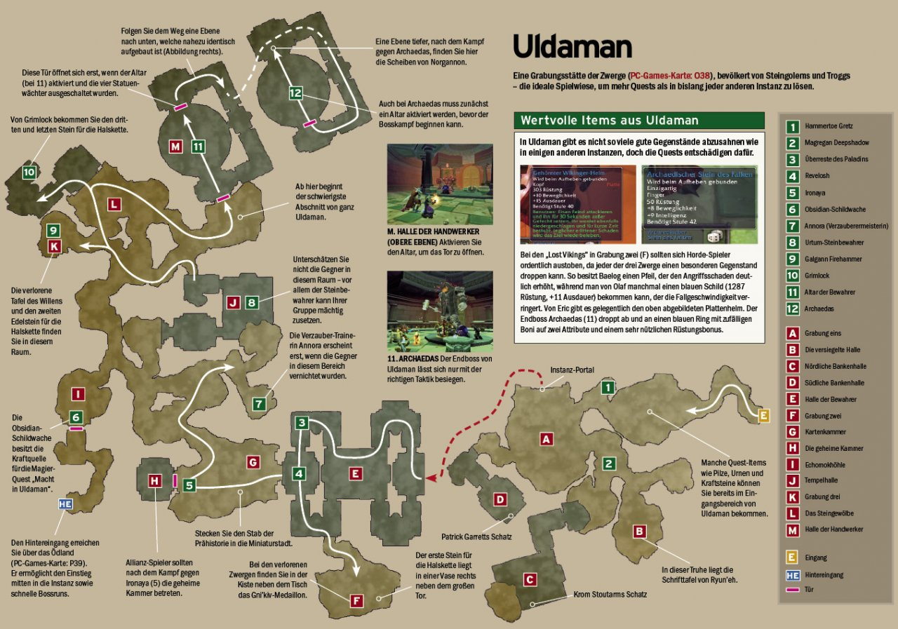 WoW Classic: Guide - Uldaman