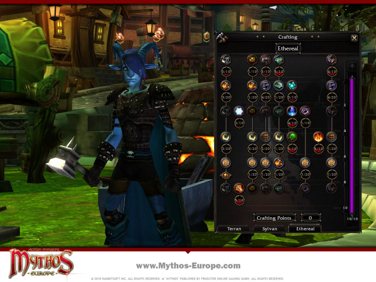 [15/11/10] Bilder zum Crafting-System in Mythos