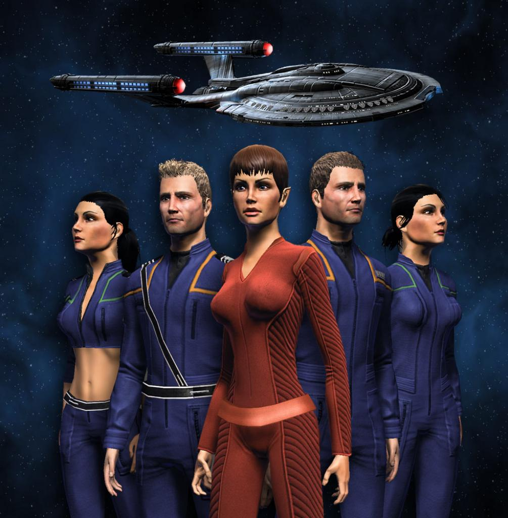 [18/11/10] Screenshots des Enterprise-Download-Packs für Star Trek Online