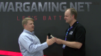 Wargaming.nets CEO Victor Kislyi im Interview mit buffed-Redakteur Oliver Haake.