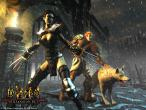 Diablo 2: Lord of Destruction Wallpaper: Druide und Assassine