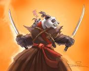 Pandaren-Artwork: Ein Pandaren-Schwertmeister - 2011/03/warcraft_pandaren_artwork_01.jpg