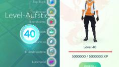 Pokémon GO: Level 40