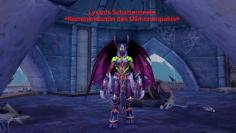 Lysanis Schattenseele in ihrem Turm in WoW: Legion