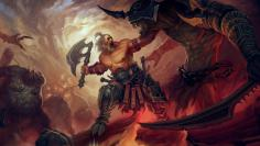 Diablo 3 Wallpaper: Barbar