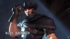 Overwatch: McCree schlüpft in The Salt Factory's Video in die Rolle des Gruppenanführers - ganz wie Cloud Strife damals.