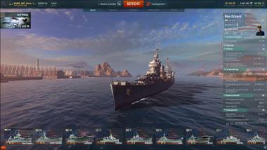 World of Warships: USS New Orleans - Video-Guide (buffed Shipyard Folge 57)