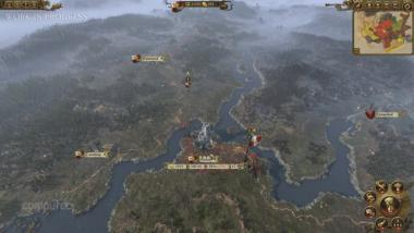 Total War: Warhammer: Gameplay und Kampagnenkarte des Imperiums im Video
