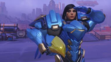 Pharah in Overwatch