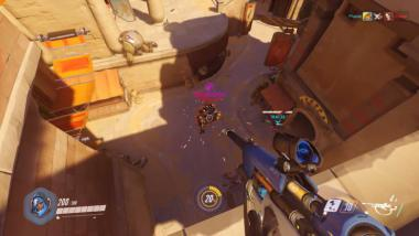 Overwatch: Die neue Heldin Ana im Gameplay-Video