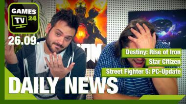 Destiny, Star Citizen, Street Fighter 5: Video-News am 26. September 2016