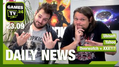 Ubisoft, Yahoo, Titanfall, Overwatch+XXX? - Video-News vom 23. September