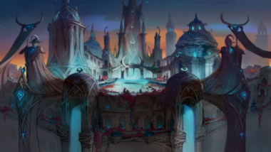 WoW: Legion Patch 7.1.5 - Nachtfestung Artwork