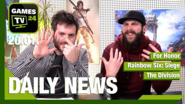 For Honor, Rainbow Six: Siege, The Division: Video-News am 20. Januar