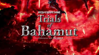 Final Fantasy 14: Trials of Bahamut - das Real Escape Game im Trailer