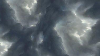 Neue Skybox mit dem stürmischen Himmel.