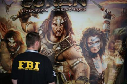 Age of Conan: Bilder vom Messestand
