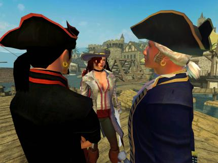 Pirates of the Burning Sea: Screenshots vom Beta-Ende