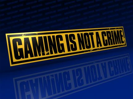 buffed intern: Gaming is not a Crime