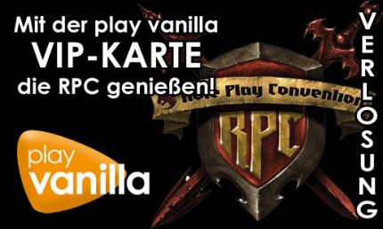 buffed intern: Gewinnspiel auf play vanilla zur Role Play Convention