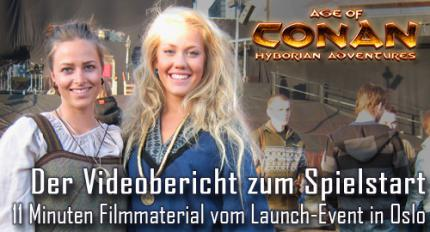 Age of Conan: Video-Special vom Launch-Event