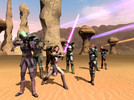 Star Wars Galaxies: Verbesserte Gruppensuche