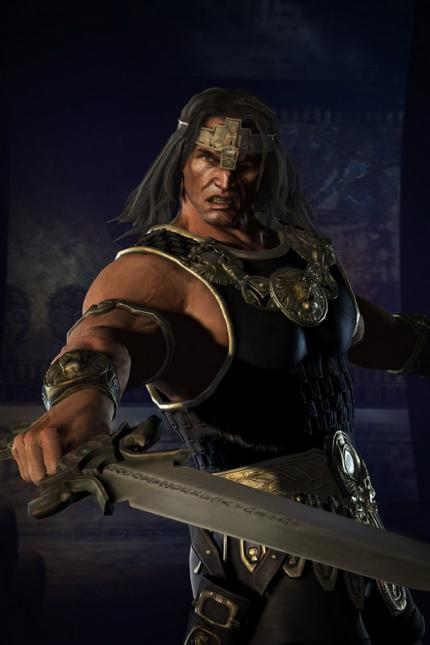 Die Personen in Age of Conan