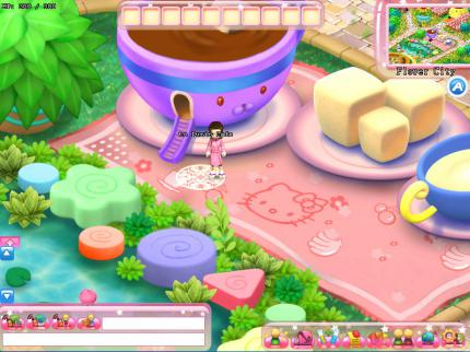 Hello Kitty Online: Frisches Bildmaterial